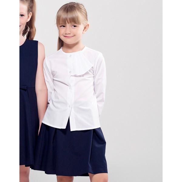 biała bluzka szkolna