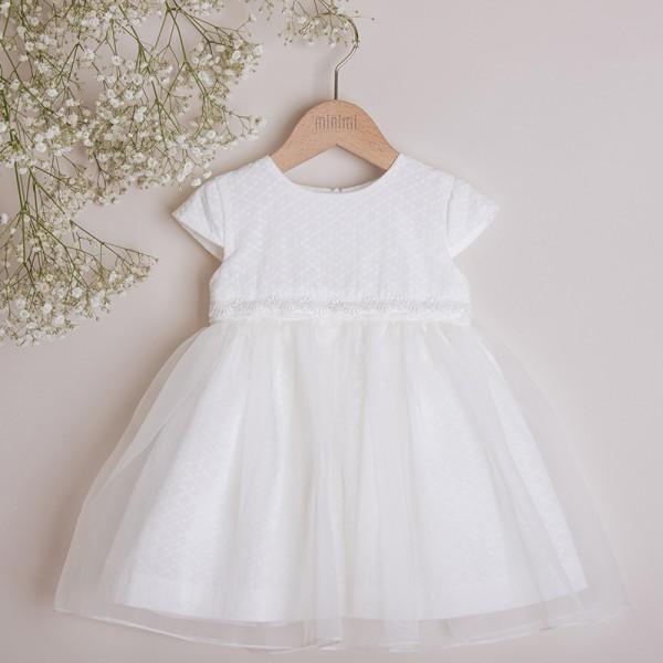 sukienka z odpinaną falbanką