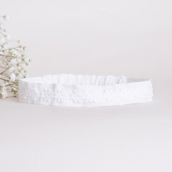 opaska bawełniana z kwiatuszkami